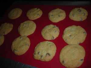 chocolate chip cookies with orange 001
