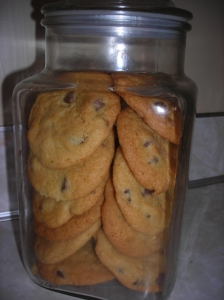 chocolate chip cookies with orange 002