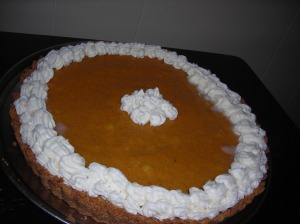 Pumpkin Banana Mousse Tart 003