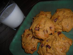 Pumpkin Chocolate Chip Cookies 005