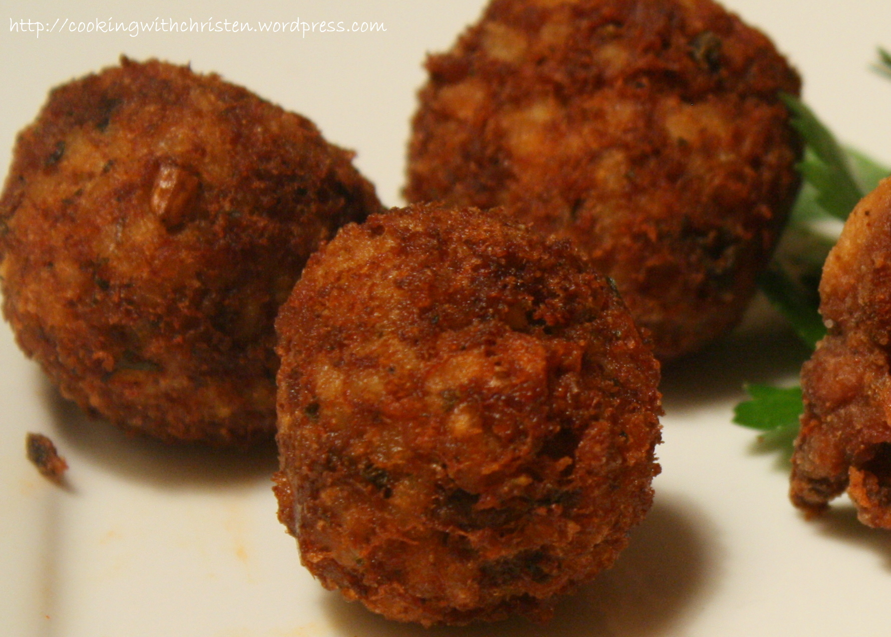 Boudin Balls | Cooking With Christen