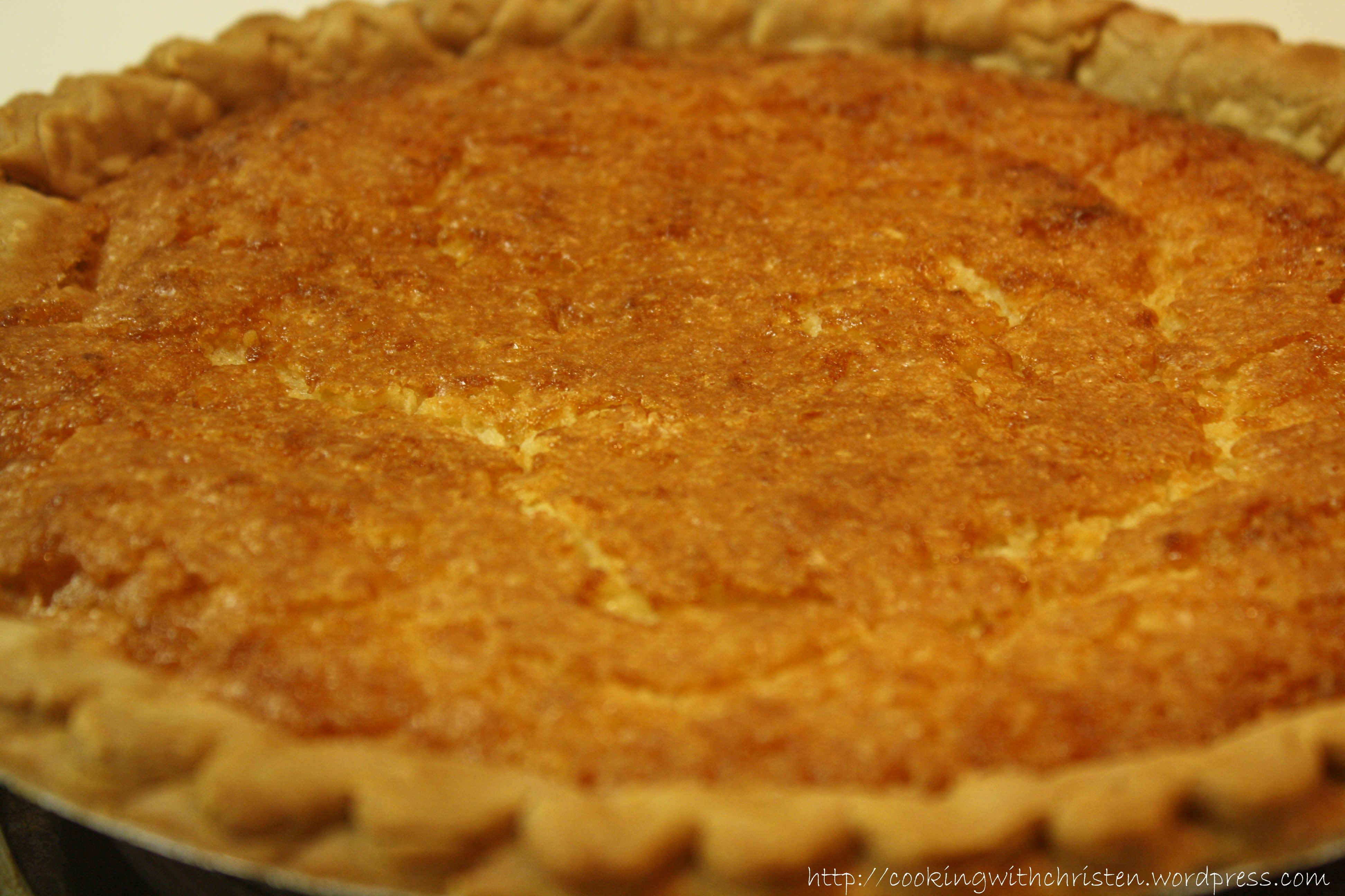 Buttermilk Pie | Cooking With Christen