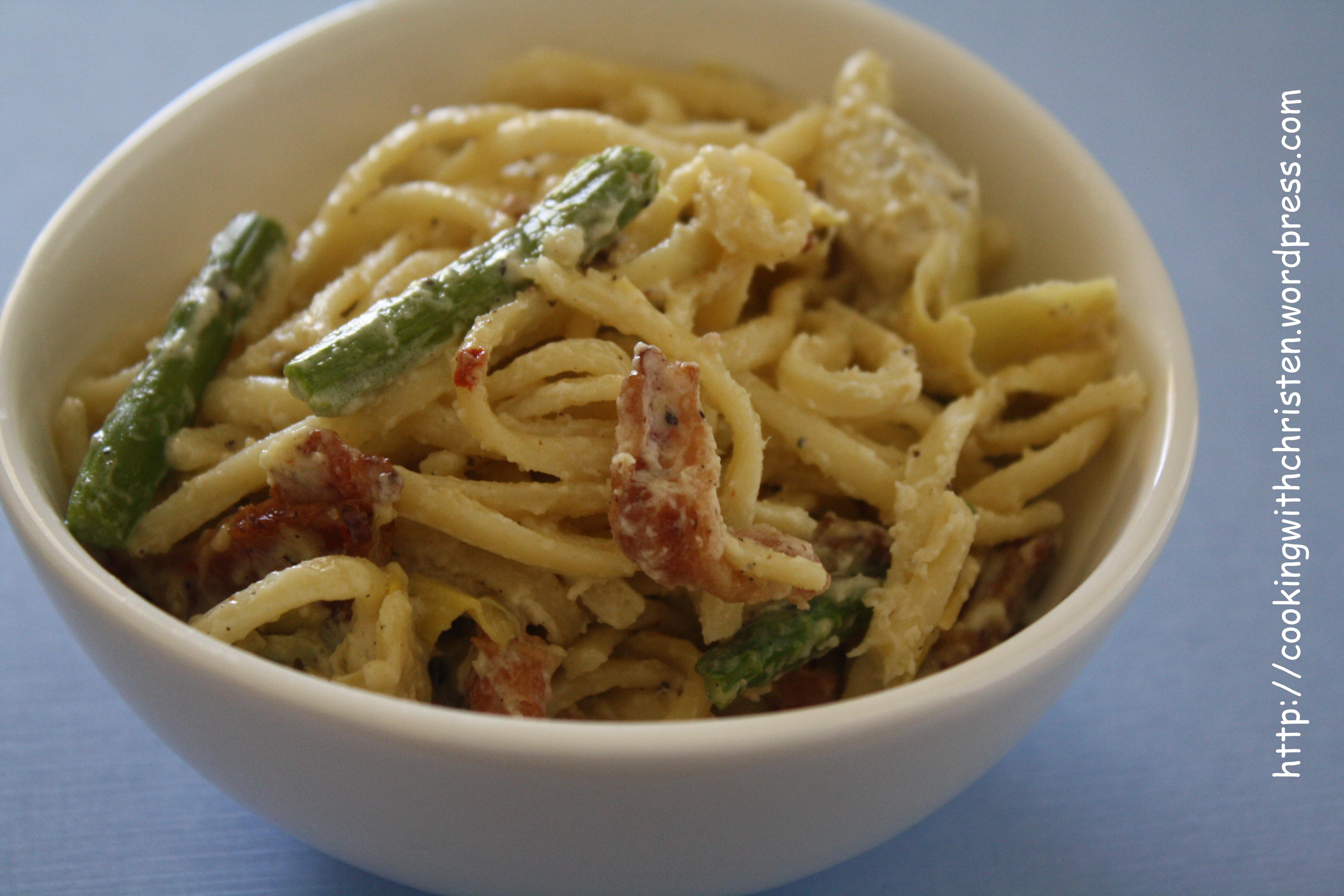 ... carbonara asparagus carbonara is a chicken asparagus carbonara