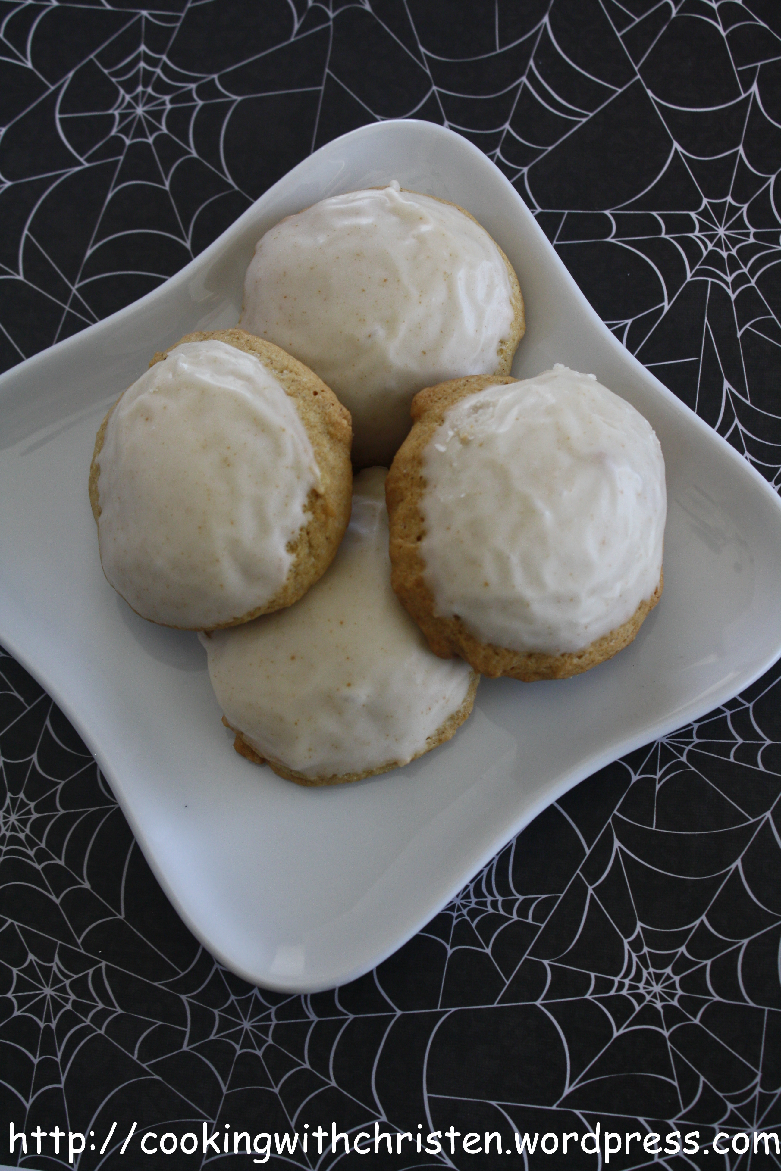 Pumpkin Cookies with Browned Butter Frosting | Cooking ...