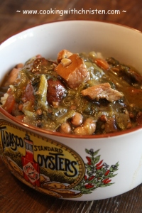 Smoked Pork and Black Eyed Pea Gumbo | Cooking With Christen