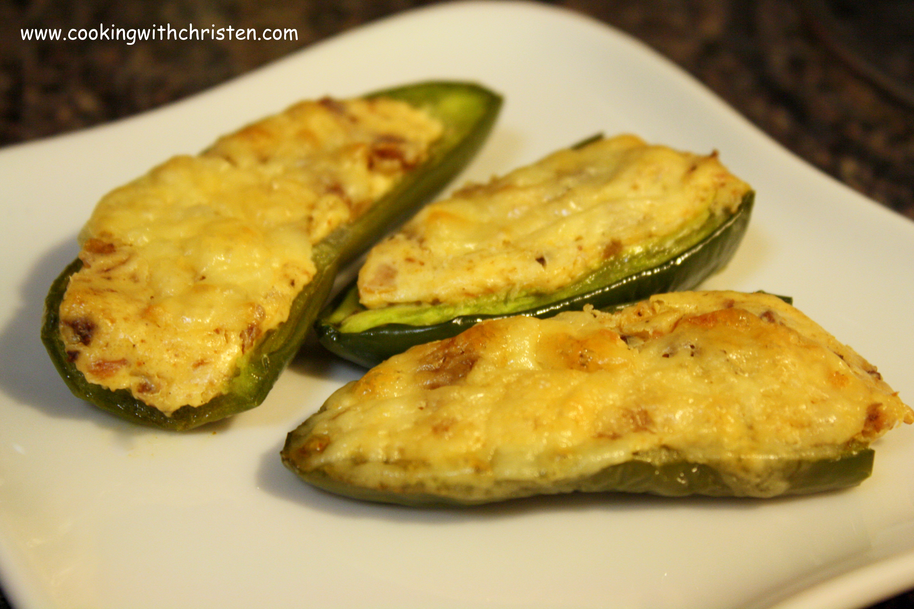 Baked Stuffed Jalapeños Recipes — Dishmaps