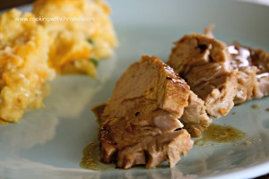 Roasted Garlic Pork Loin