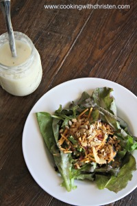 Sweet Vidalia Onion Salad Dressing