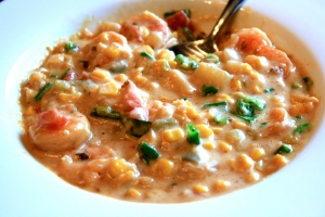 Corn and Shrimp Chowder
